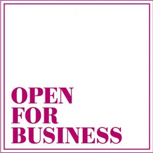 open for business box